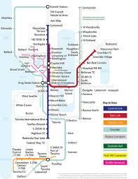 Seattle Washington Map by Seattle More Maps As Art Subway Maps Pinterest Seattle