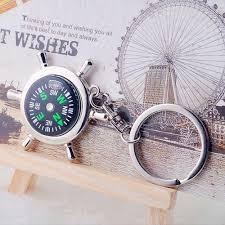 keychain wedding favors personalized nautical compass rudder key ring favors ewfp003 as