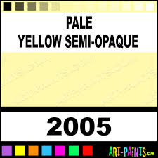 pale yellow semi opaque ceramcoat acrylic paints 2005 pale