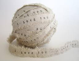 personalized ribbon for wedding favors personalized ribbon 4 yards i you ribbon personalized shabby