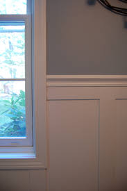 Wainscoting In Dining Room Benjamin Moore Le Chic Elefant