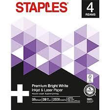 Print Resume At Staples Staples Laser Paper 8 1 2