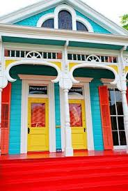 new orleans colorful houses colorful new orleans homes google search paint and trim