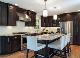 Dark Walnut Kitchen Cabinets by Kitchen Dark Cabinets With Light Countertops Espresso Walnut Door