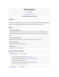 Java Web Developer Resume Sample by Resume Of Php Developer Resume For Your Job Application