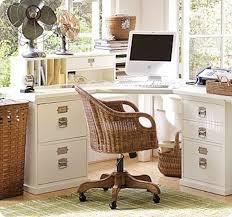 Pottery Barn Bedford Desk Knock Off Large Corner Desk With File Cabinets