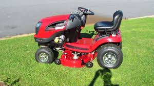 last summer i purchased a craftsman lawn tractor riding lawn