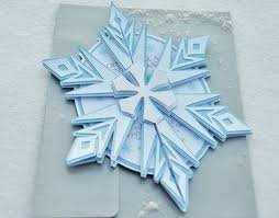 template stylish frozen snowflake birthday invitations with