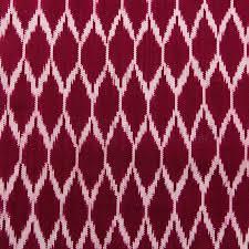Purple Ikat Curtains Toliman Ikat Fabric Claret Textiles