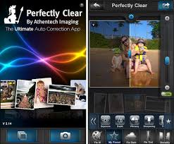 perfectly clear apk make android phone photos with perfectly clear app