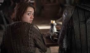 Arya Goes Blind Arya Stark And Sandor Clegane