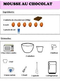 site recettes cuisine recette mousse au chocolat recettes patisserie