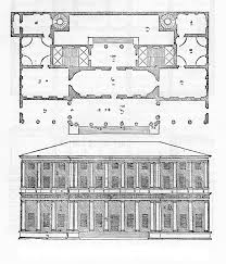 Palazzo Floor Plan Andrea Palladio Probably Following A Previous Design By Giulio