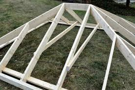 Framing A Hip Roof Porch How To Build A Shed With A Record 100 Pics Vids And Diagrams