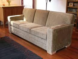 bean products inc organic club sofa in hemp fabric