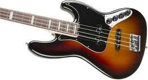 fender american elite jazz bass rosewood fingerboard 3 color