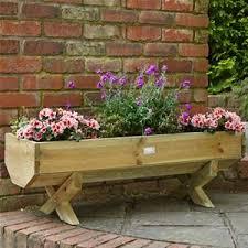 forest garden 1 2m wooden mini garden trough planter woodworking