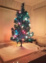 accessories mini pre lit tree realistic artificial