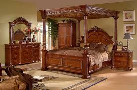 Cool King Canopy Bedroom Set King Canopy Bed Ebay Pleasing King - California king size canopy bedroom sets