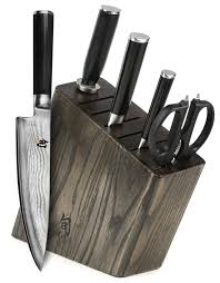the 3 best shun knife sets from japan with love shun classic 6 piece slim knife block set