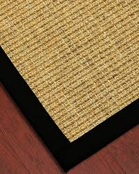 south beach sisal rug w free rug pad premade sisal rugs natural