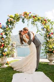 wedding arch no flowers 30 summer wedding arches and backdrops weddingomania
