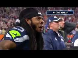 Richard Sherman Memes - richard sherman reaction patriots vs seahawks 2 1 2015 super