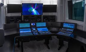 News Studio Desk by Youtube Space London Goes Ip With Ssl Evertz And Ross Video