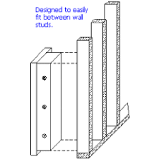 between the studs gun cabinet vline 51653 closet wall floor gun vault w mechanical pushbutton
