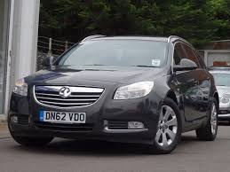vauxhall insignia estate used grey vauxhall insignia for sale suffolk