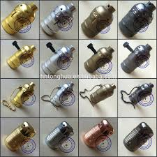 Pendant Light Socket E27 Vintage Lamp Holder Pendant Light Socket Ul 110v 220v Brass