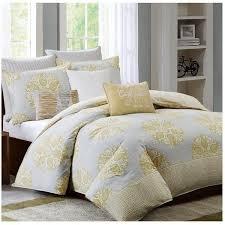 Grey And Yellow Comforters Gray Comforter Set Walmart Tags Yellow And Gray Comforter Set