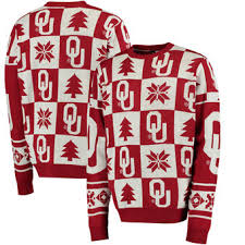 oklahoma sooners ugly sweaters oklahoma ugly christmas sweater