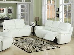 Leather Livingroom Set Decoration White Leather Sofa Set Home Decor Ideas