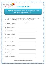 grade 3 grammar topic 20 compound words worksheets lets share