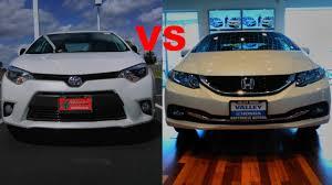 difference between honda civic lx and ex 2015 honda civic vs 2015 toyota corolla