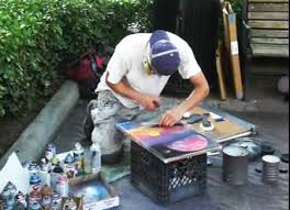 Spray Paint Artist - inspiration and originality underlined spray paint art an overview