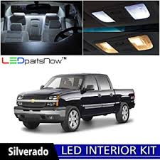 chevy silverado interior lights amazon com ledpartsnow 1999 2006 chevy silverado led interior