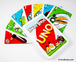 uno angry birds rules uno rules