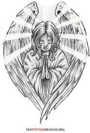 Tattoo Ideas Of Angels Christian Tattoos Jesus Rosary Virgin Mary Praying Hands