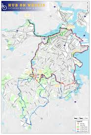 Boston Bike Map by Dempsey Challenge The Journey Of A Passionate Runner