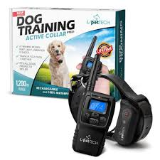dog collar lights waterproof amazon com pettech remote controlled dog shock collar 1200 range
