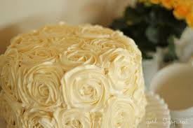 vanilla rose cake with buttercream frosting recipe
