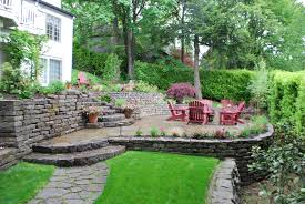 Tiered Backyard Landscaping Ideas Sloped Backyard Landscaping Ideas Beautiful Tiered Patio Design