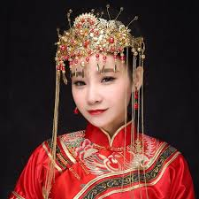 traditional hair accessories traditional classical bridal jewelry headdress coronet hair