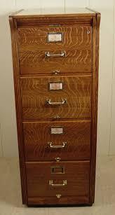 Oak Filing Cabinet Wooden 4 Drawer File Cabinet Duluthhomeloan