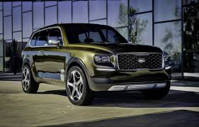 suv kia kia telluride concept this is a proper suv carpower360