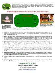 amazon com starpro 10 u0027x3 u0027 5 holes pro am professional practice
