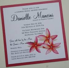 bridal shower invitations hawaiian themed bridal shower invitations