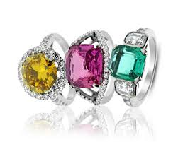 coloured stone rings images Antique vintage diamond rings hatton jewels jpg